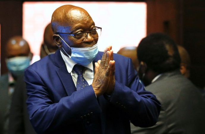Zuma Ropes In Adv Dali Mpofu, Pleads Not Guilty To Graft Charges