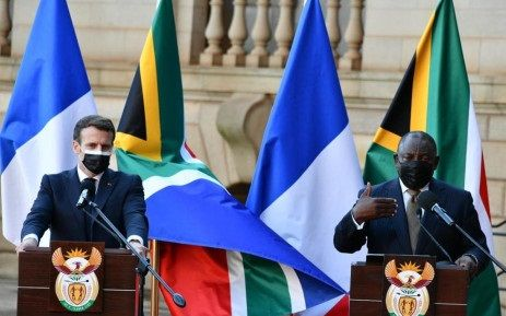 Emmanuel Macron Charms South Africa, Lauded By Ramaphosa
