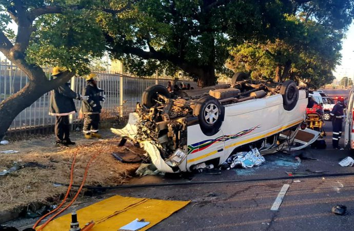 Taxi Crash In Durban Leaves One Dead, 12 Others Injured
