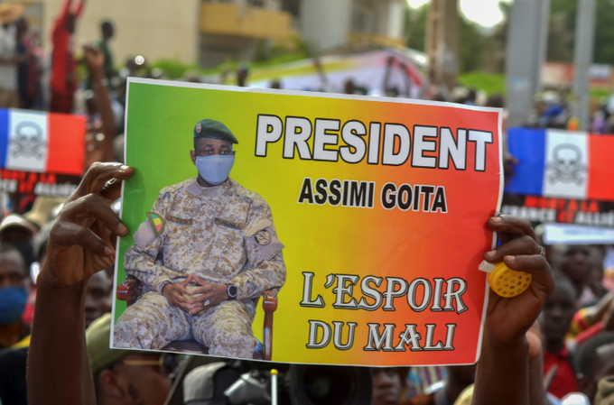 Coup Leader Goita Sworn In As Mali President, For Now