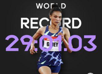 Ethiopia's Gidey Breaks Hassan's Two-Day Record