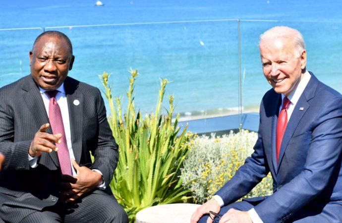 SA President Ramaphosa Implores G7 To Share Vaccines