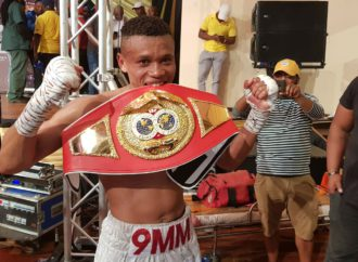 Bloodied Nose And Unable To See Lamati Wins IBO Belt