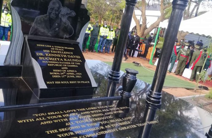 Kaunda Laid To Rest, But Could Be Reburied