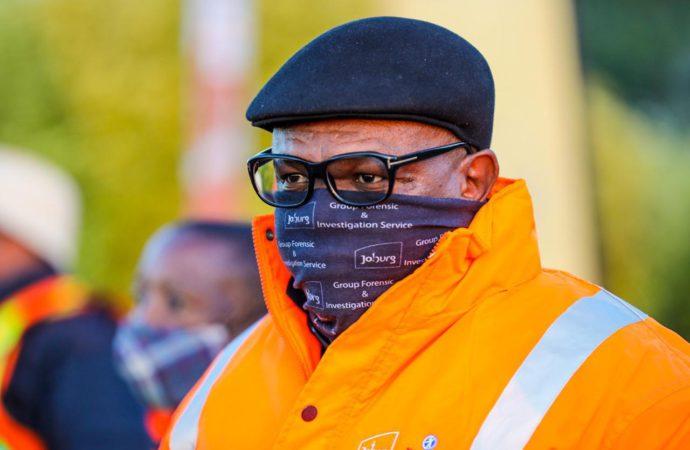 Virtual Farewell For Joburg Mayor Struck By Virus