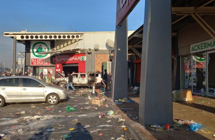 Looting Continues, Court To Rule On Zuma Sentence