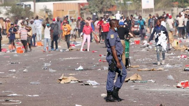 SA Looting: Death Toll Rises To 72, More Arrests