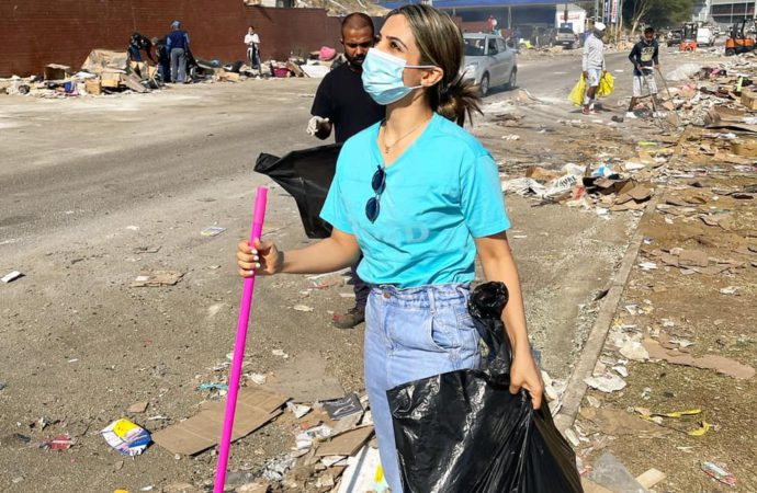 SA Looting: Clean Up Starts, Zuma Still In Jail