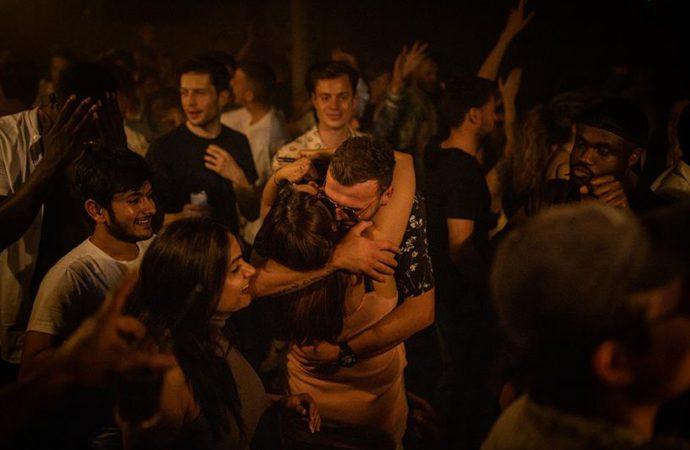 Britons Free To Hug And Kiss Amid Virus Spike