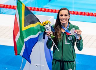 Schoenmaker Scores Silver For Team South Africa