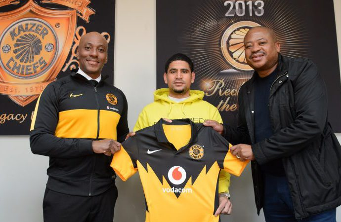 Kaizer Chiefs Unveil Big Signing Keagan Dolly