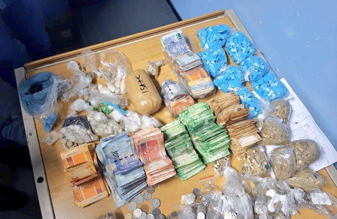 Drug Dealers Nabbed, Hijacked Cars Recovered