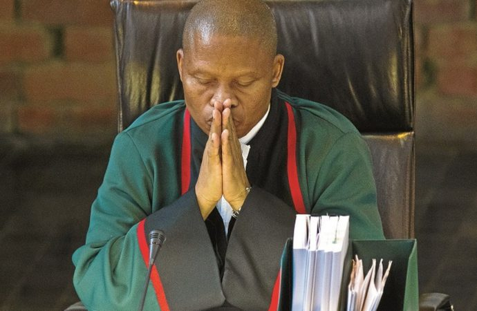You Can Help Pick Next SA Chief Justice – President