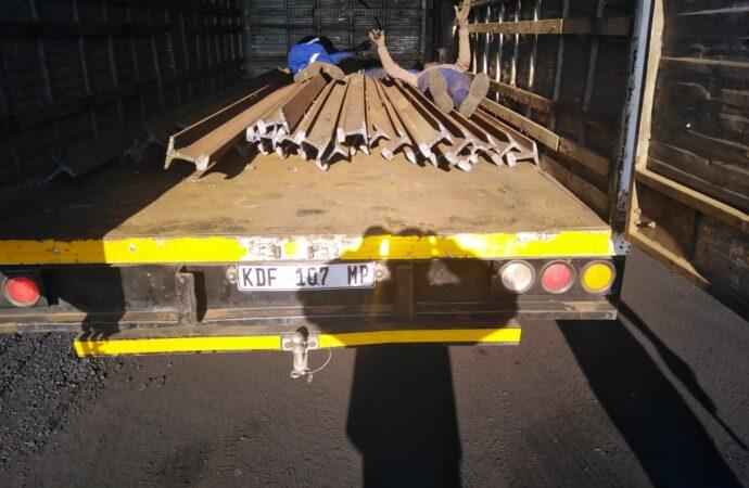 Hawks Nab 16, Recover 5 Truckloads Of Stolen Rails