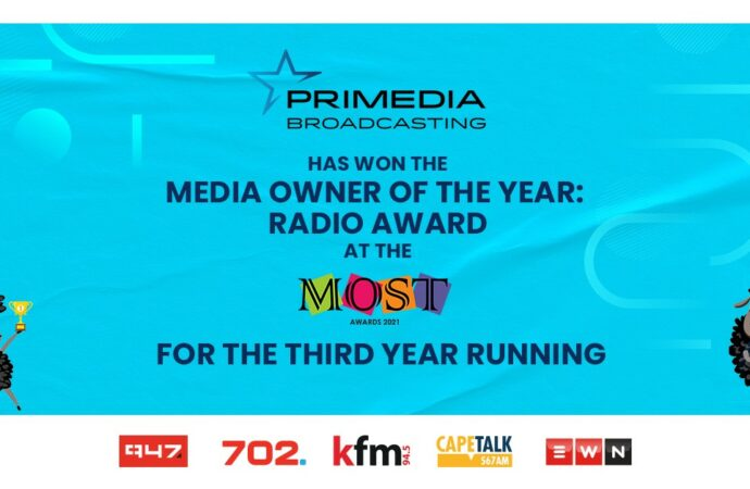 Primedia Scoops Radio Award, Third Year Running