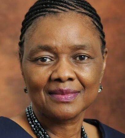 Deputy Minister Prof. Hlengiwe Mkhize Dies