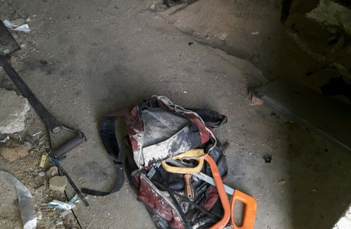 Cable Thief Burnt To Death Inside Substation