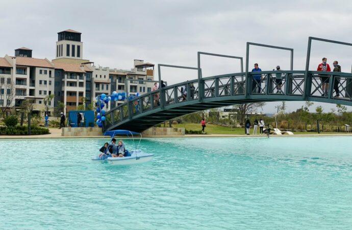 After Ultimate Helistop, Steyn City Adds Lagoon