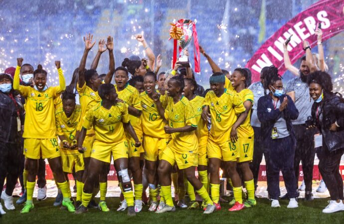 Banyana Defeat Nigeria To Lift Aisha Buhari Cup
