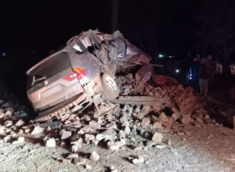 One Dead, 3 Others Injured After Car Rolls
