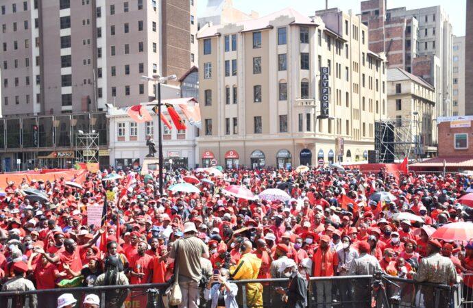 EFF Manifesto: Jobs, Land, Crèches, Free Services