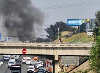 Tanker In Multiple Car Crash, Man Burnt To Death
