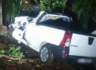 Man Found Dead Behind Steering After Car Crash