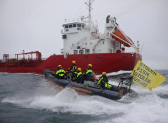 Greenpeace Intercepts Fish Oil Tanker From West Africa