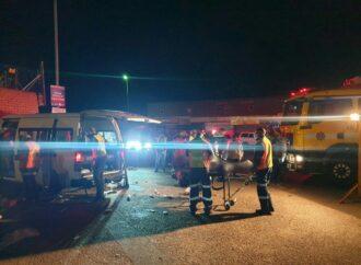 Woman Dies, 14 Injured In Minibus Taxi Crash