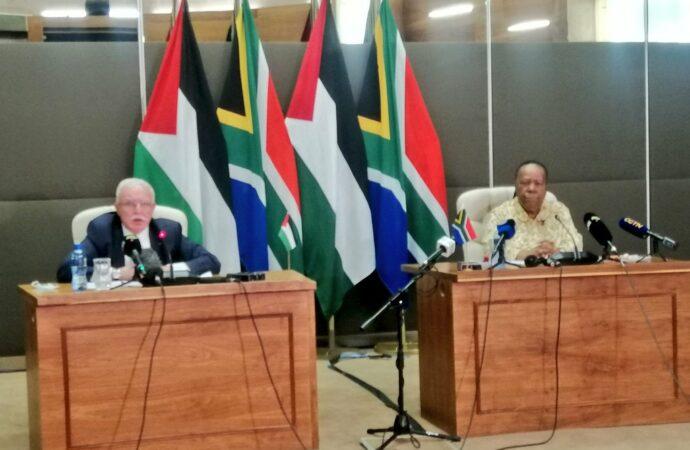 SA Hosts Palestine's Dr. Malki, AU Under Pressure