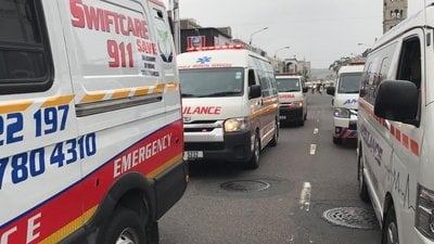 RAF Stand-Off With Private Ambulance Operators