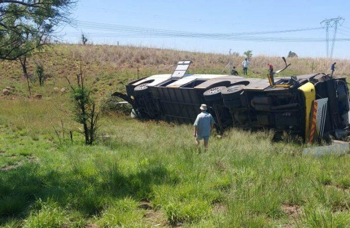 Bus Crash Tragedy: 10 Die, 55 Hurt Near Tugela River