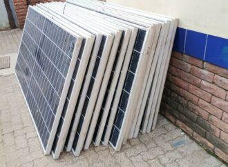 Solar Panel Thieves Nabbed, Remain Locked Up